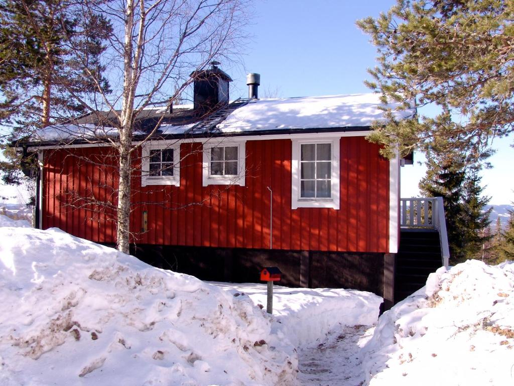 Holiday Home Långberget during the winter