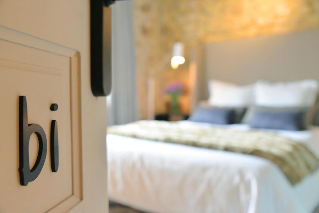 Cama o camas de una habitación en Hotel Garaiko Landetxea