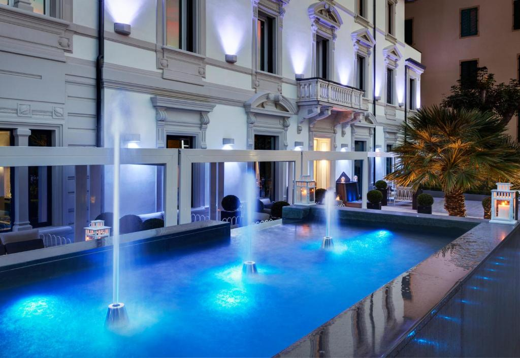The swimming pool at or near LHP Hotel Montecatini Palace & SPA