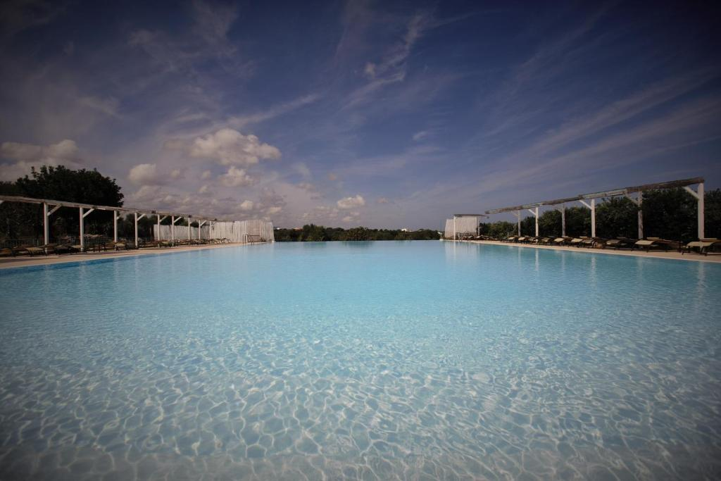 The swimming pool at or near Casale del Murgese Country Resort
