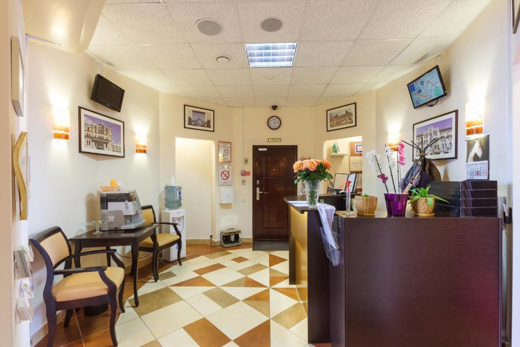 The lobby or reception area at Serpukhovskoy Dvor