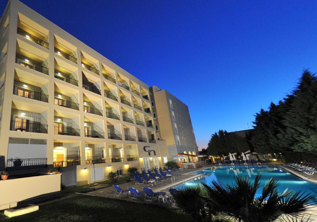 Πισίνα στο ή κοντά στο Corfu Hellinis Hotel