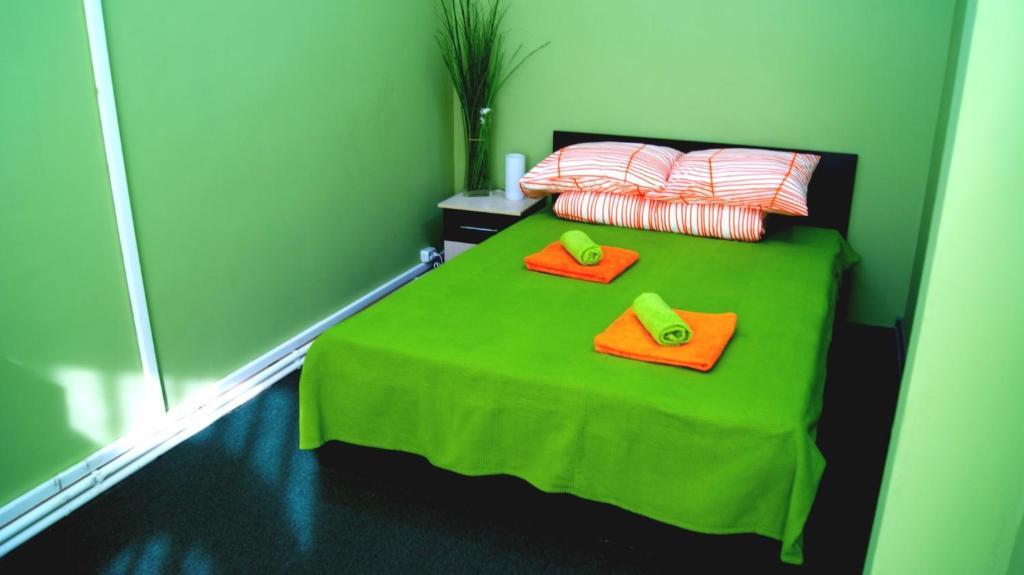 Кровать или кровати в номере Мини отель Звездный