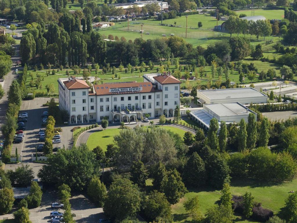 A bird's-eye view of Savoia Hotel Regency