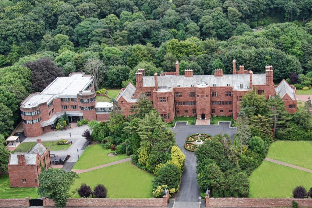 A bird's-eye view of Abbey House Hotel
