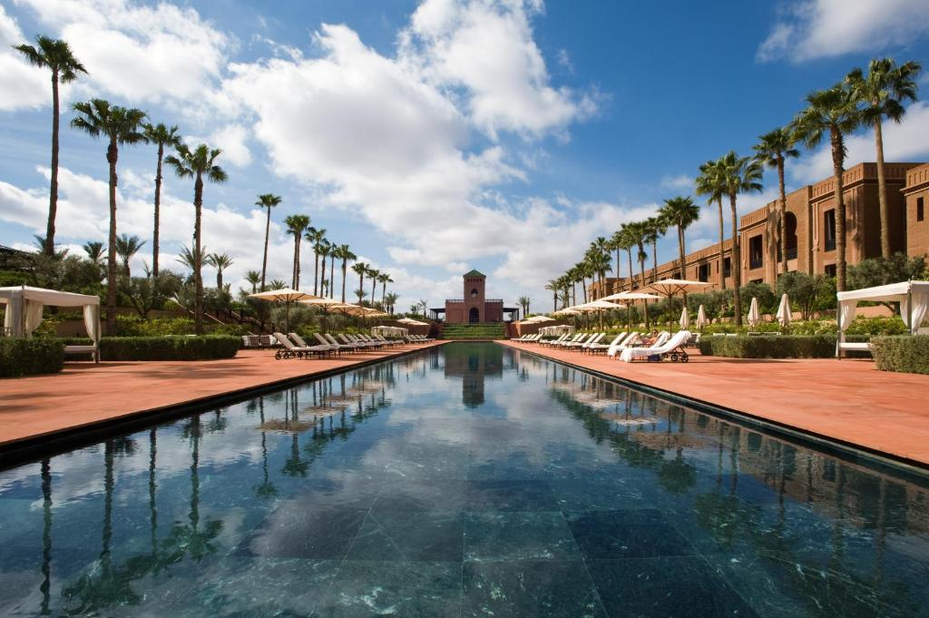 The swimming pool at or close to Selman Marrakech
