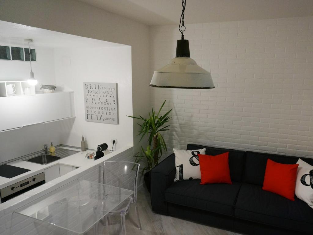 Cucina o angolo cottura di Les Suites di Parma - Luxury Apartments