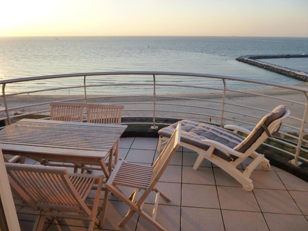 Een balkon of terras bij El Mirador Quality Stay - Apartments