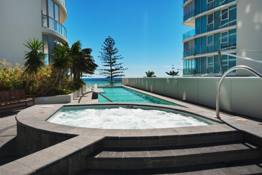 The swimming pool at or near Reflection Tower Two