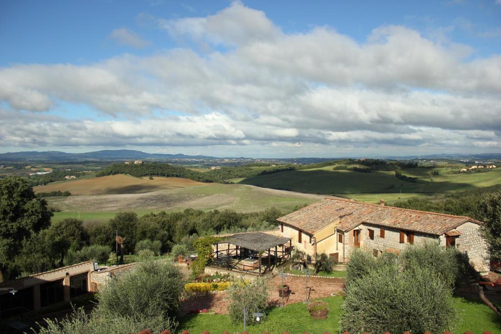 A bird's-eye view of Antico Borgo Poggiarello