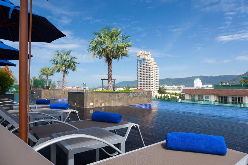 The swimming pool at or near Best Western Patong Beach