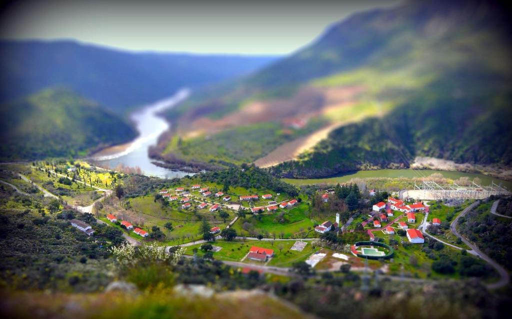 A bird's-eye view of Hospedería Rural Aldeaduero
