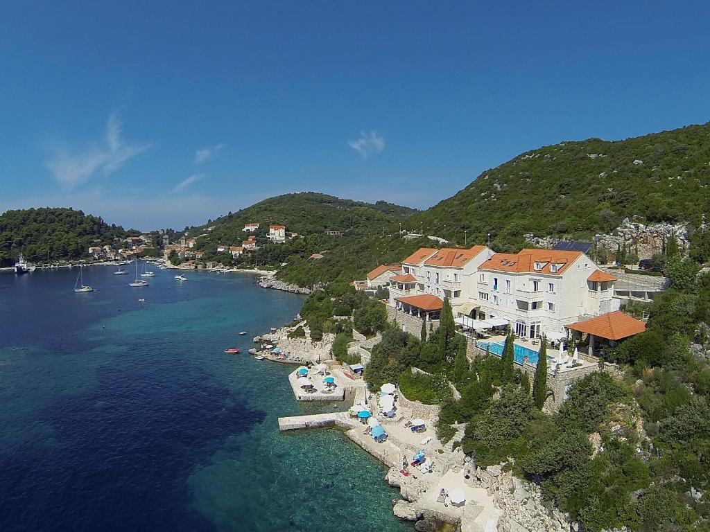 Hotel Bozica Dubrovnik Islands sett ovenfra