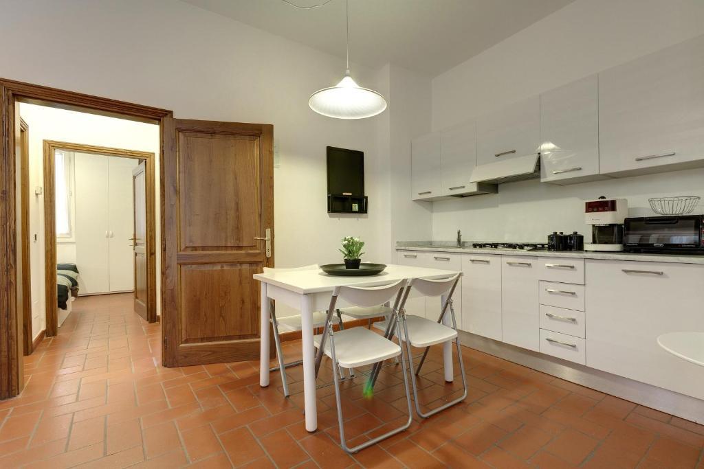 A kitchen or kitchenette at Oche