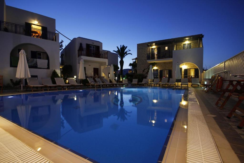 The swimming pool at or near Katerina Hotel
