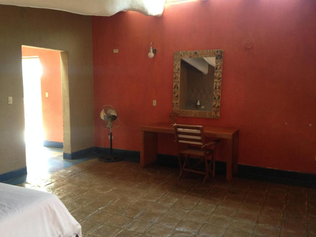 A television and/or entertainment center at Los Horcones de Tucume