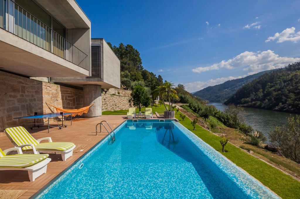 A piscina em ou perto de Villa Spa Douro