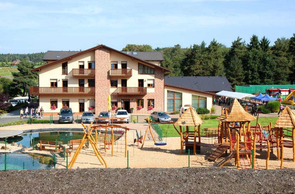 Children's play area at Sportpenzion Pohoda