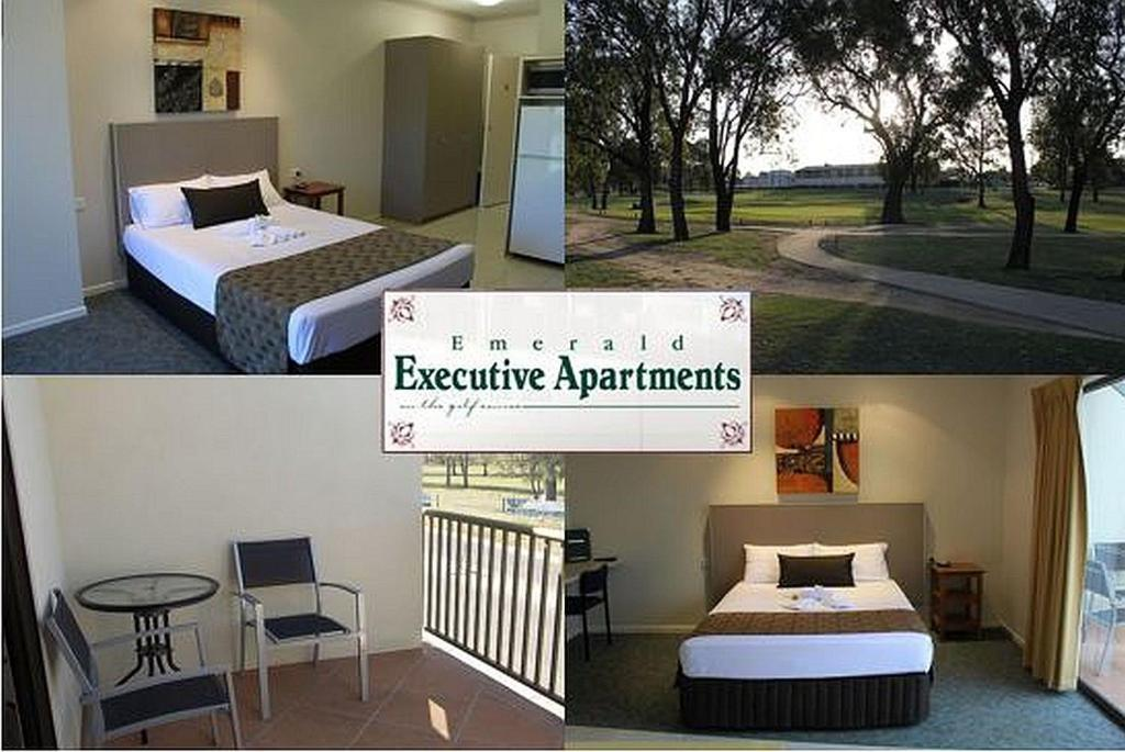 A room at Emerald Executive Apartments