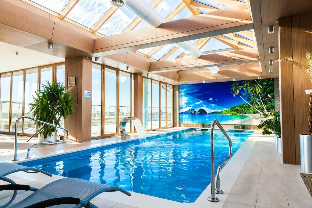The swimming pool at or near Spa Hotel Best Western Russian Manchester
