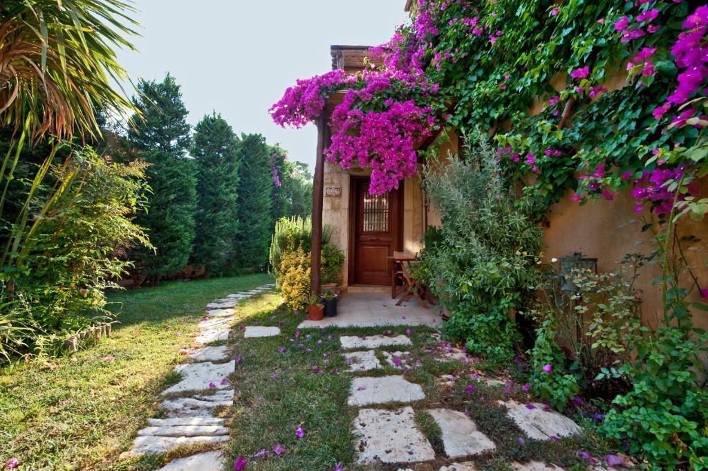 A garden outside Kalimera Archanes Village