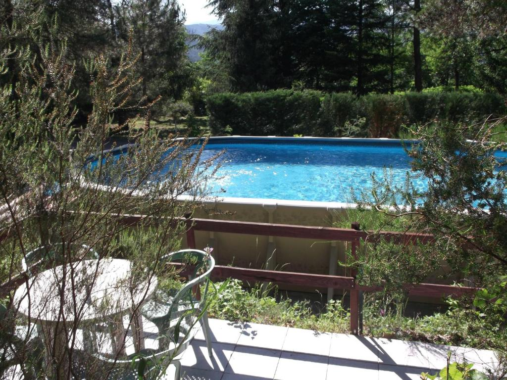 The swimming pool at or near Le Casquille