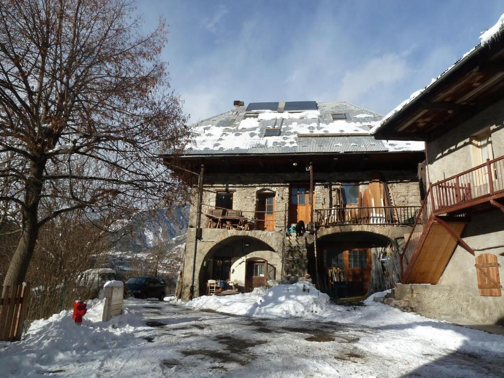 Studio Illamane during the winter