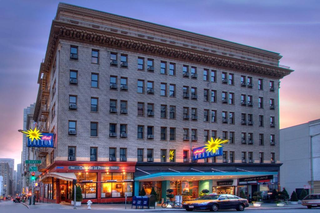 The Hotel Triton.