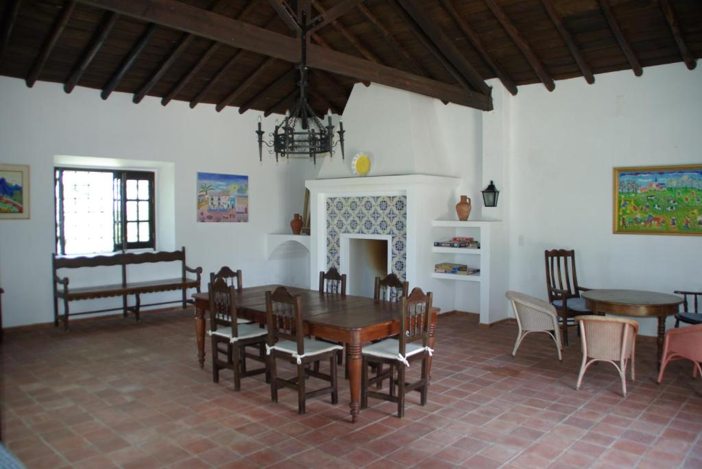Área de jantar in the country house