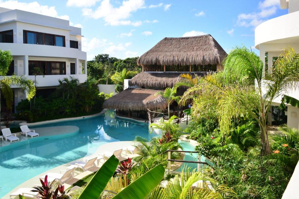 Piscina en o cerca de Intima Resort Tulum Adults Only (Clothing Optional)