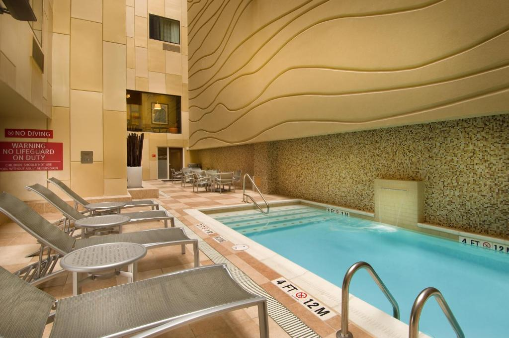 The swimming pool at or near TownePlace Suites by Marriott San Antonio Downtown