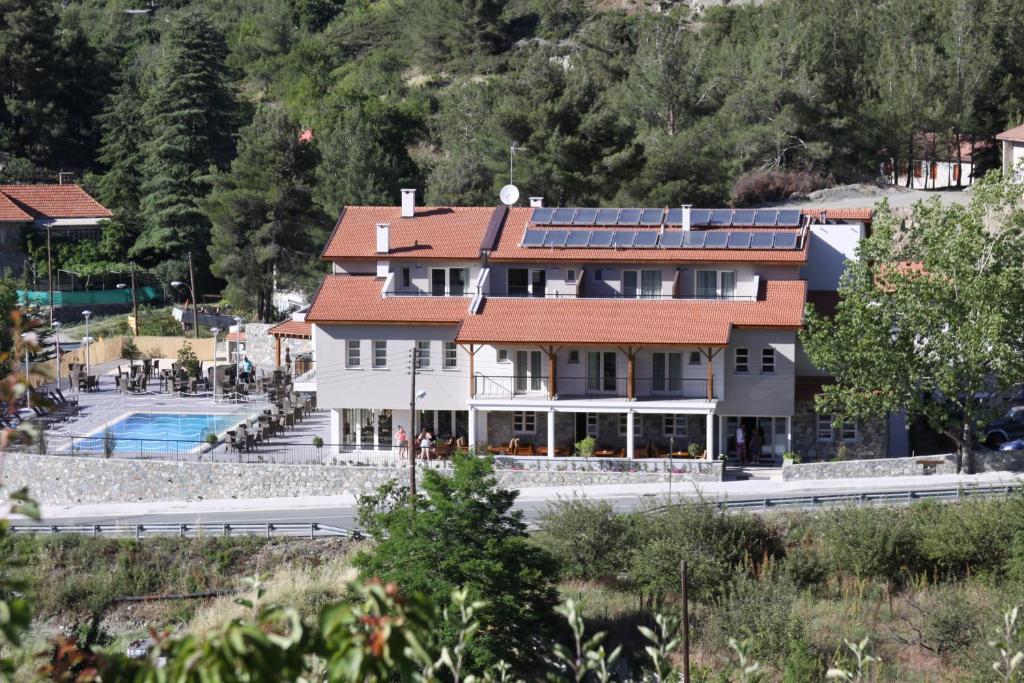A bird's-eye view of Livadia Hotel Kyperounta