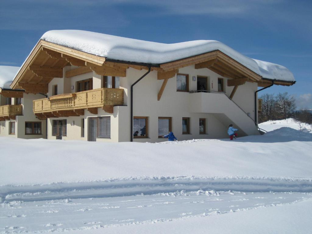 Appartement Lindner Hannes during the winter