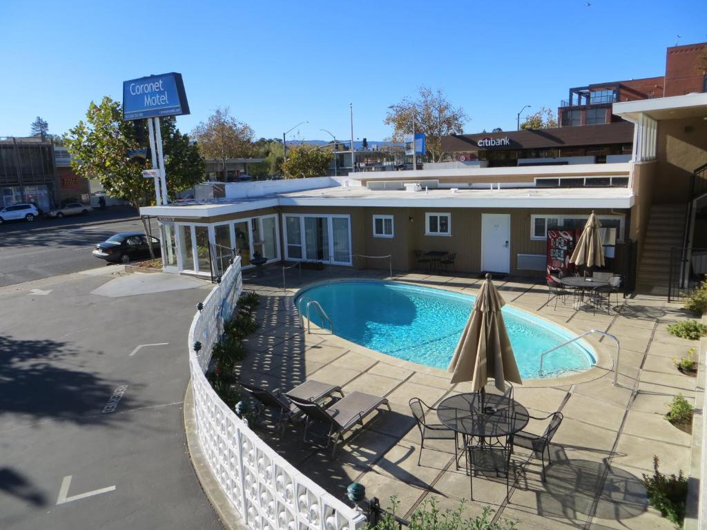 The Coronet Motel.