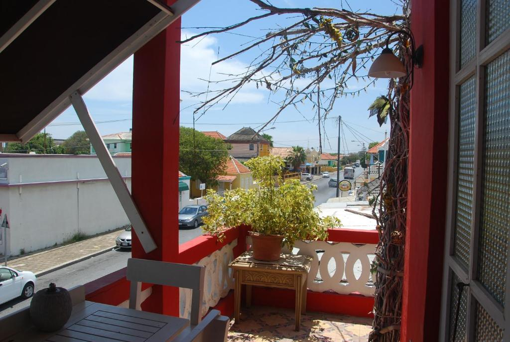 Uma varanda ou terraço em Apolonia Boutique Hotel Curaçao
