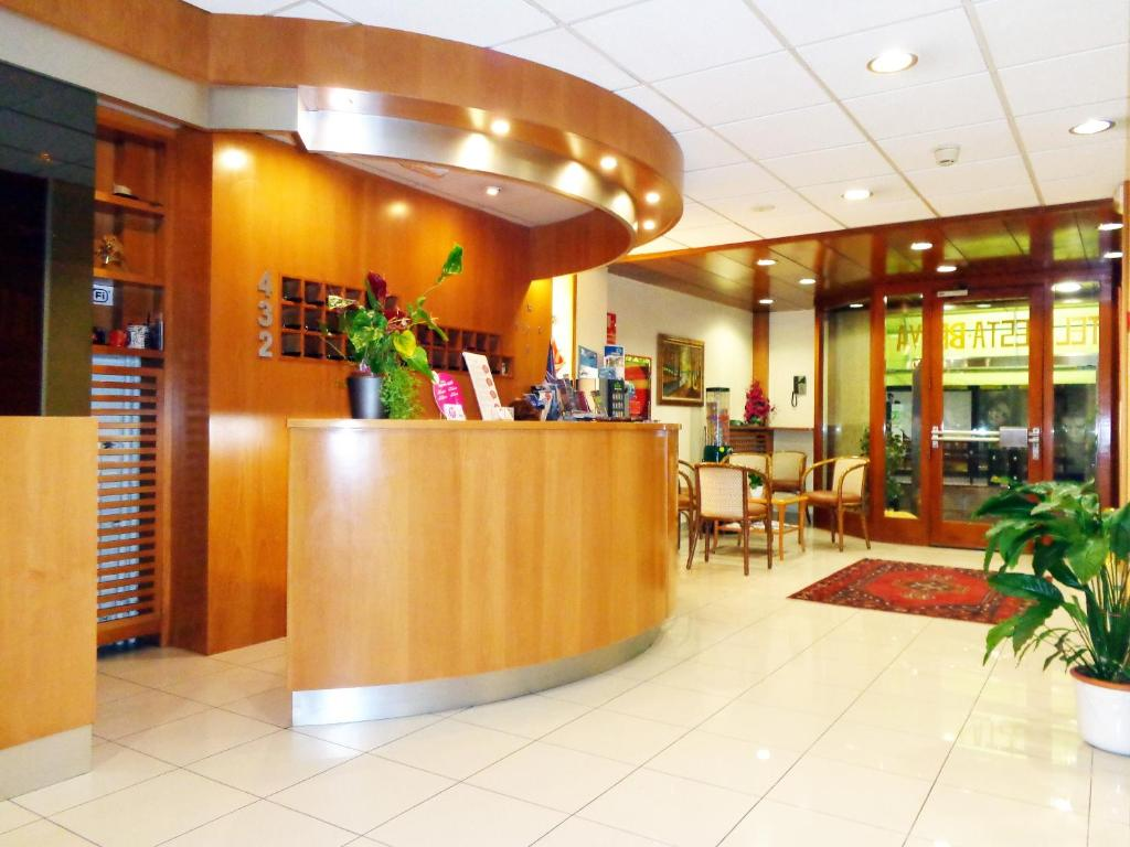 The lobby or reception area at Hotel Festa Brava