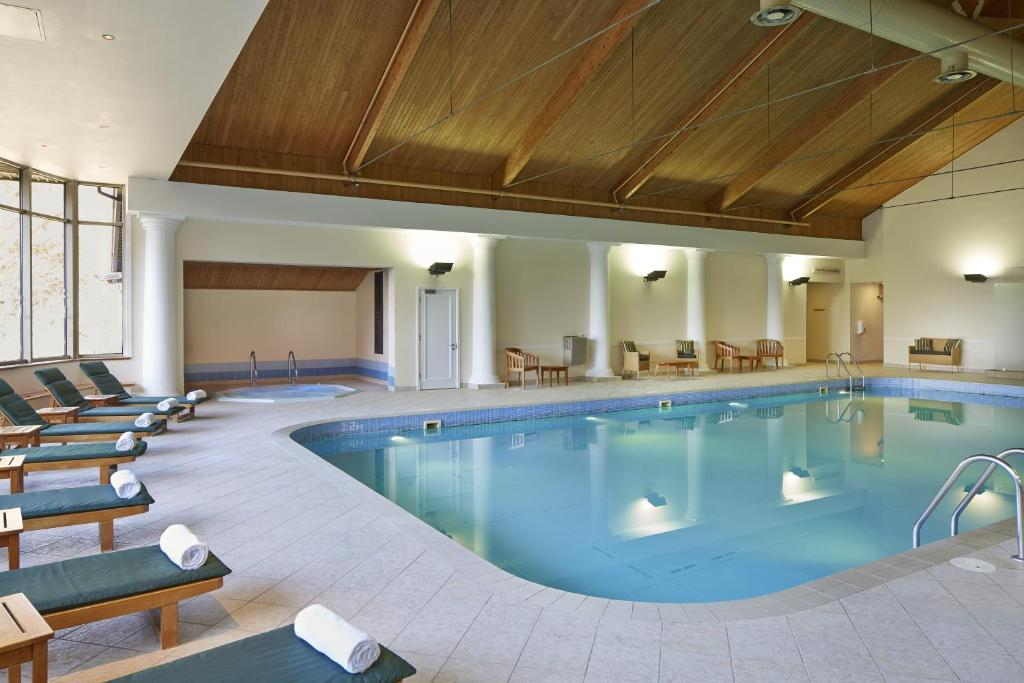 The swimming pool at or near Huntingdon Marriott Hotel