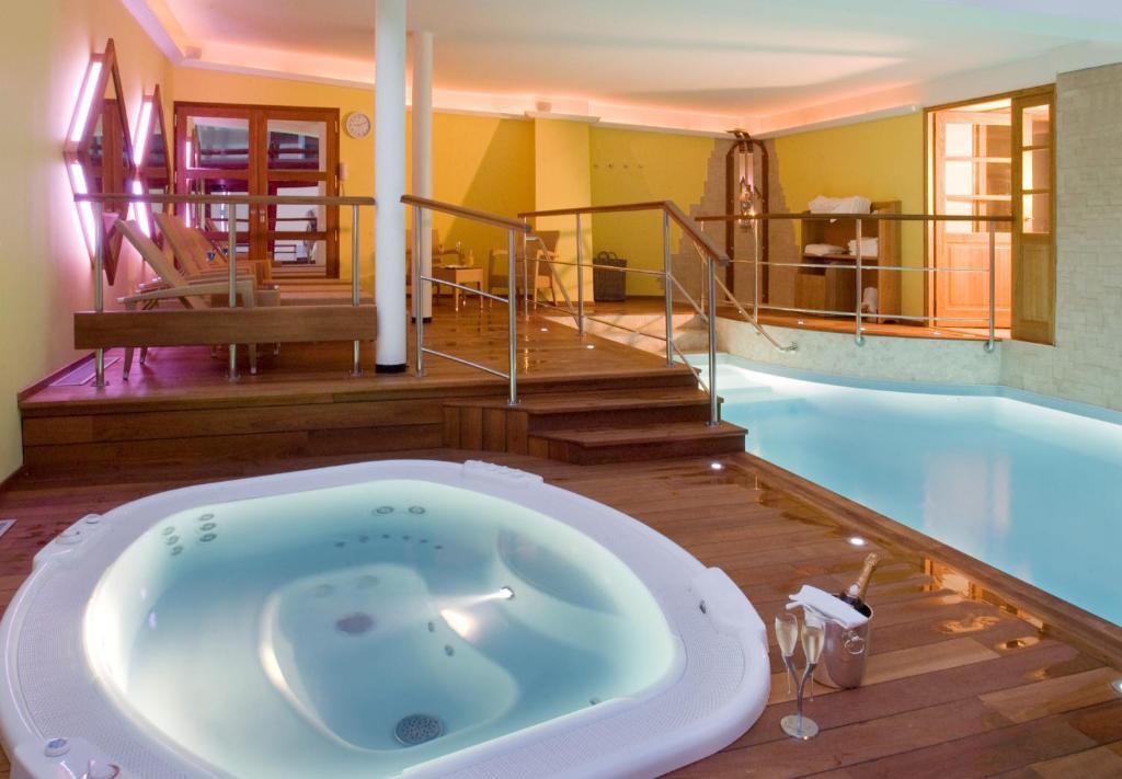 The swimming pool at or near Hotel De La Matelote
