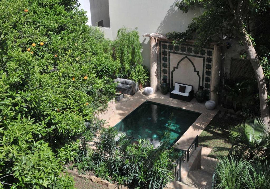 منظر المسبح في La Maison de Tanger او بالجوار