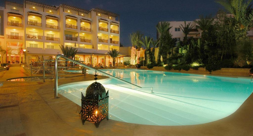 Piscina en o cerca de Hotel Timoulay and Spa Agadir