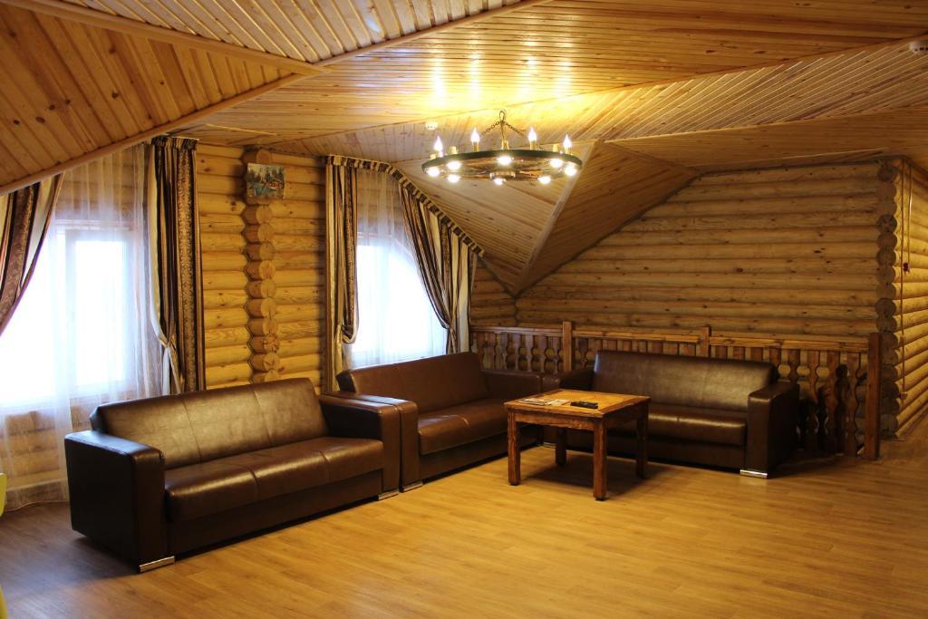 Гостиная зона в Гостиничный Комплекс Баден -  Баден