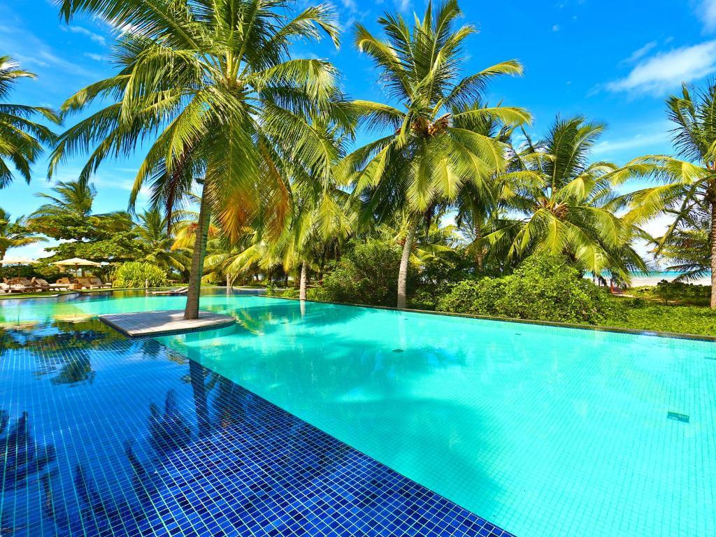 A piscina localizada em Camurim Grande ou nos arredores