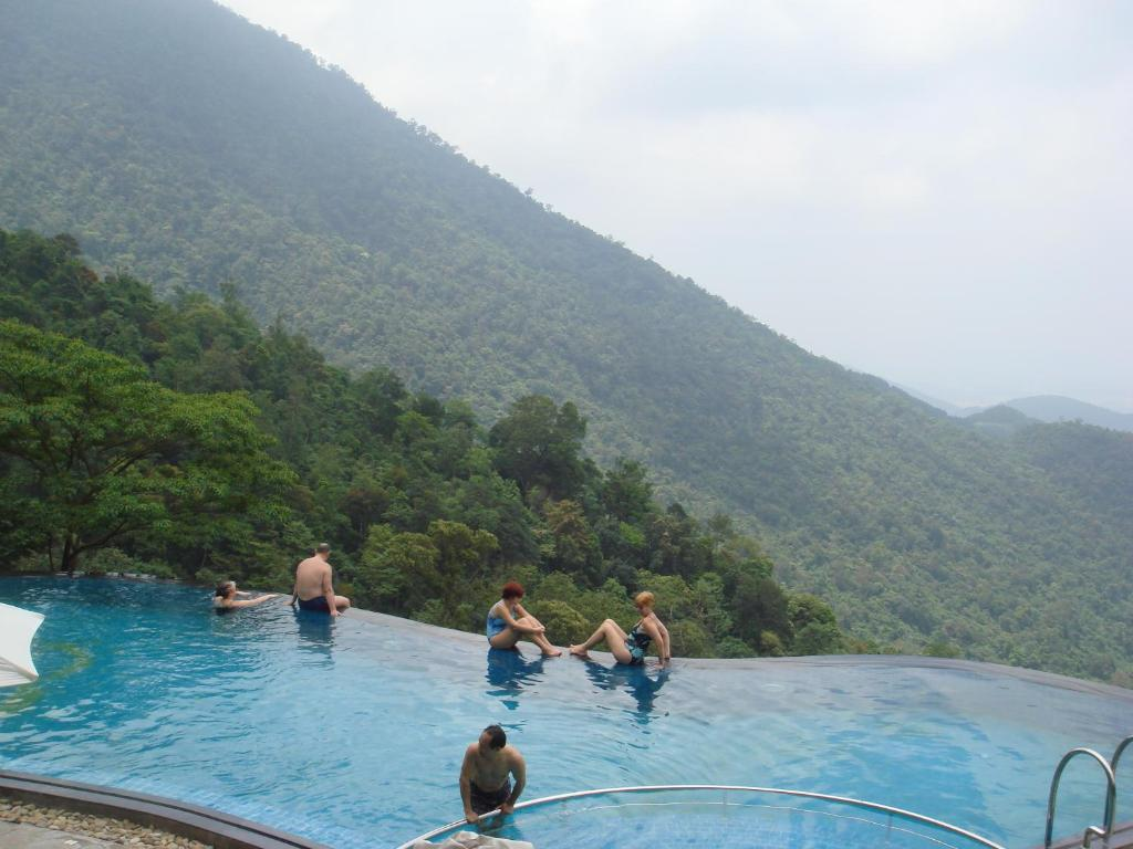 The swimming pool at or near Belvedere Tam Dao Resort