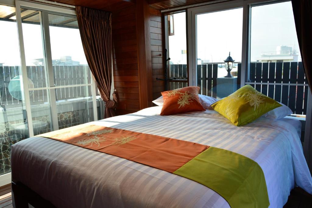 Cama o camas de una habitación en Adamaz House
