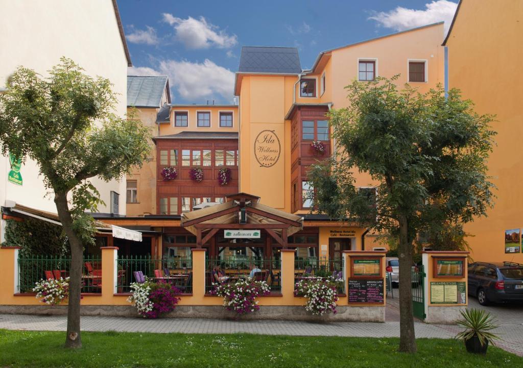 Wellness Hotel Ida Frantiskovy Lazne, Czech Republic