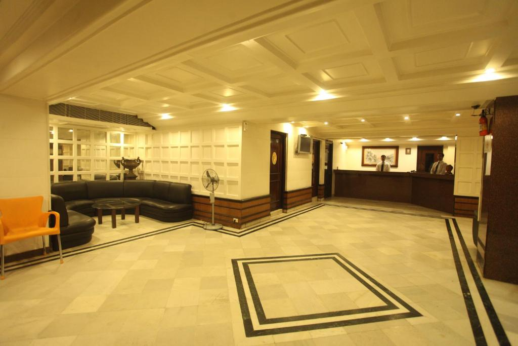 Лобби или стойка регистрации в Tex Palazzo Hotel