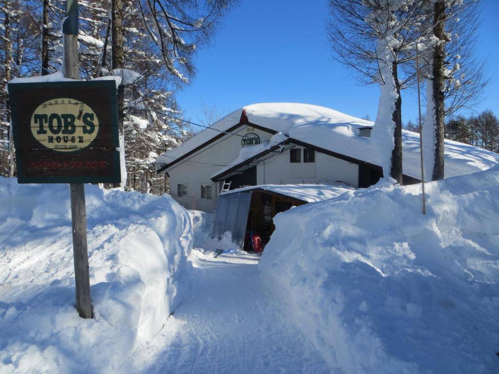 Tob's House during the winter