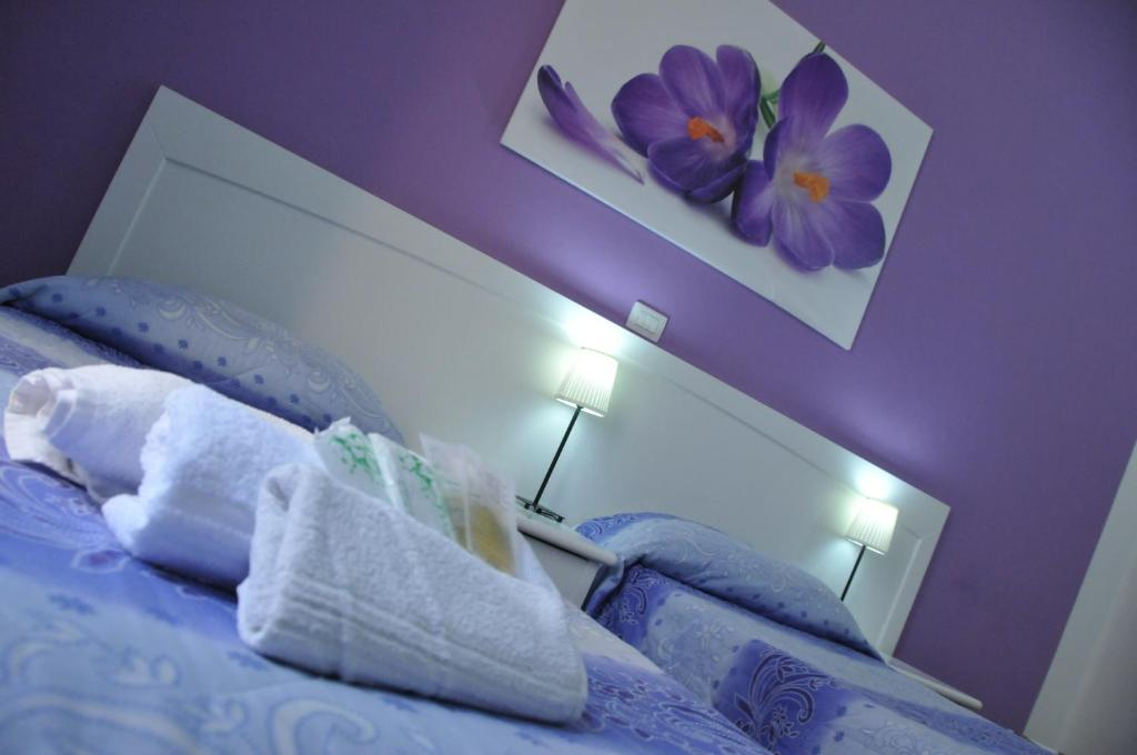 A bed or beds in a room at B&B Giulia