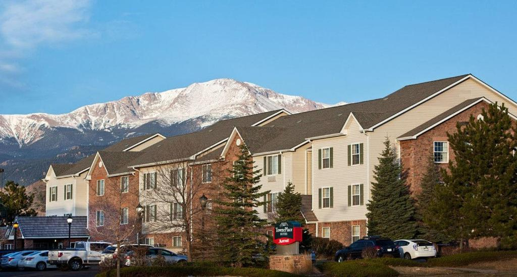 TownePlace Suites Colorado Springs during the winter