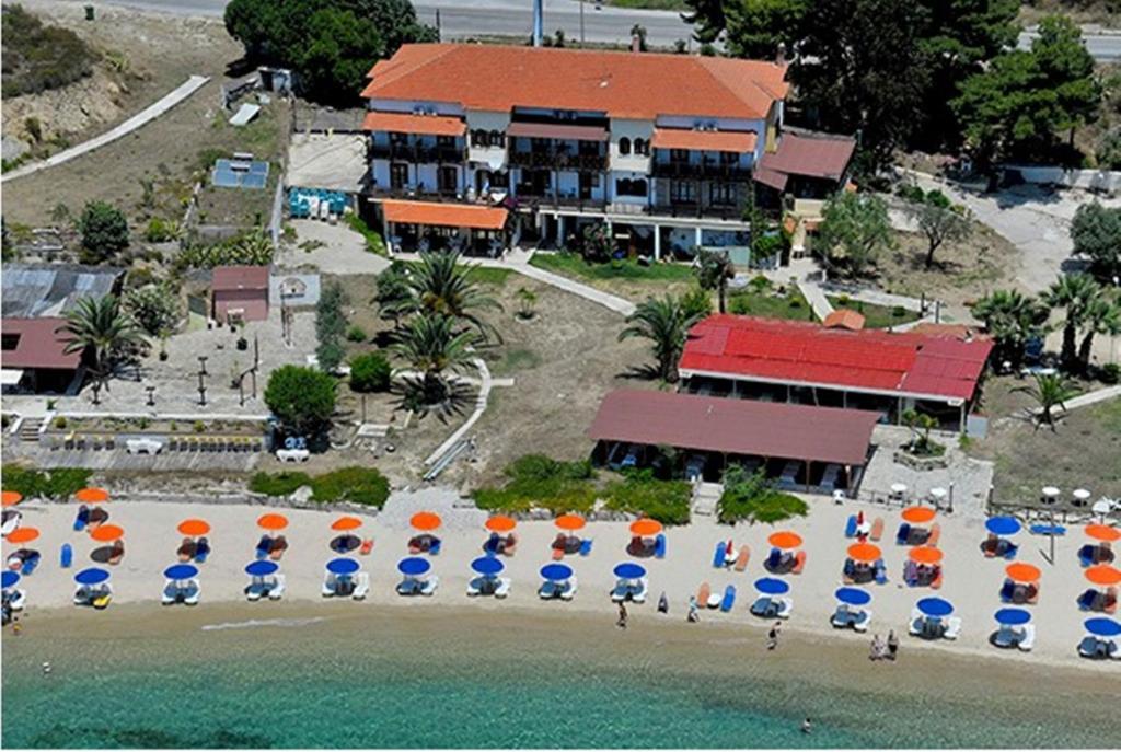 A bird's-eye view of Porto Kalliali